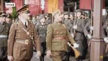 El encuentro entre Franco y Hitler, en color