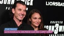 Gavin Rossdale and Girlfriend Natalie Golba Make Their Red Carpet Debut at 'John Wick 3' Premieres