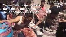 Yémen: Sanaa bombardées par la coalition, au moins 6 morts