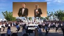 """Les 25 ans de """"La Cité de la peur"""" célébrée à Cannes avec une carioca géante"""