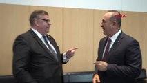 Dha Dış ? Çavuşoğlu, Finlandiya Dışişleri Bakanı Timo Soini ile Görüştü