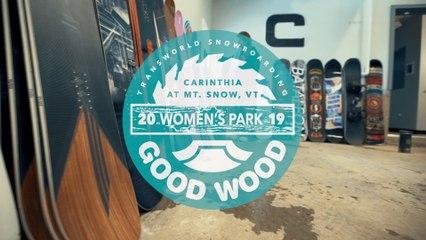 Burton Rewind Review: Women's Park Winner – Good Wood Snowboard Test 2018-2019