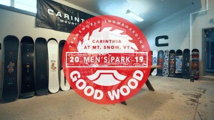 Lib Tech Box Knife: Men's Park Winner – Good Wood Snowboard Test 2018-2019