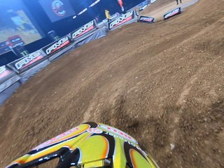2018 Paris Supercross | Justin Hill GoPro Onboard