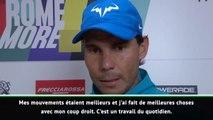 "Rome - Nadal : ""Je progresse chaque semaine"""