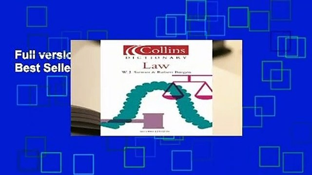 Full version  Law (Collins Dictionary of)  Best Sellers Rank : #1