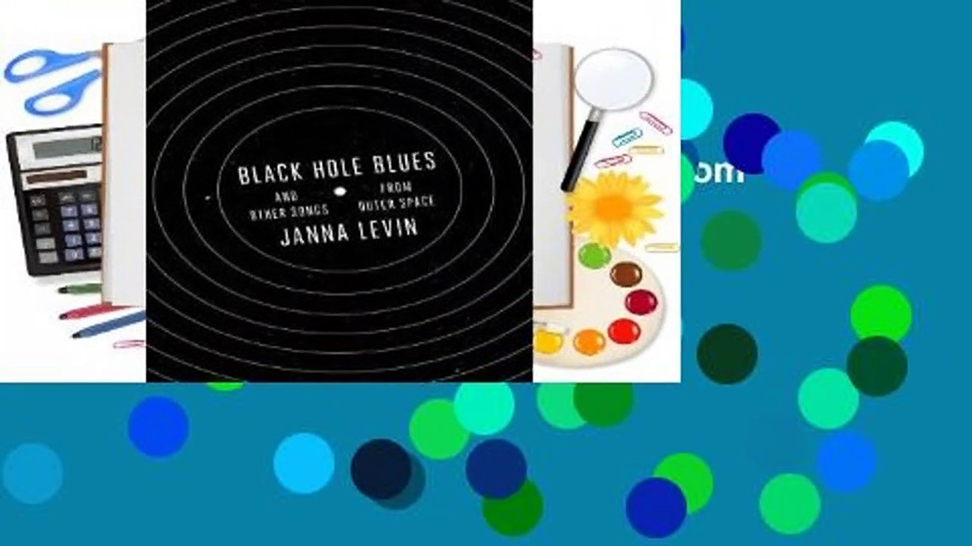 Black Hole Blues and Other Songs from Outer Space  Review