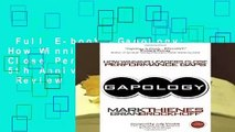 Full E-book  Gapology: How Winning Leaders Close Performance Gaps, 5th Anniversary Edition  Review