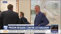 Procès pour fraude fiscale: prison ferme et 10 ans inéligibilité requis contre les Balkany