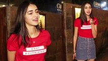 Ananya Pandey asks media person about Student of the year 2; Watch Video | FilmiBeat