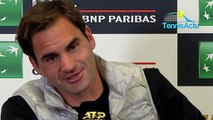 """ATP - Rome 2019 - Roger Federer s'est fait peur mais """"a pris beaucoup de plaisir !"""""""