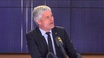 """Européennes : """"Il y a une liste qui a fait bouger les lignes, c'est celle des Républicains"""", affirme Laurent Wauquiez"""
