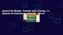 About For Books  Travels with Charley: In Search of America by John Steinbeck