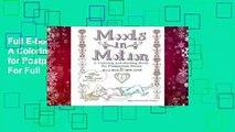 Full E-book Moods in Motion: A Coloring and Healing Book for Postpartum Moms  For Full