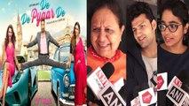 De De Pyaar De Public Review from Mumbai: Ajay Devgn | Tabu | Rakul Preet Singh | FilmiBeat