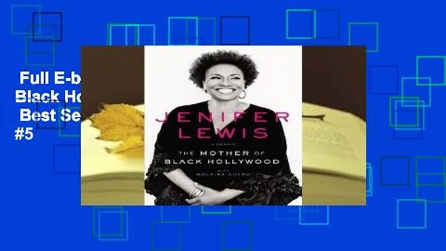 Full E-book  The Mother of Black Hollywood: A Memoir  Best Sellers Rank : #5