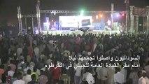 السودانيون يرفضون فض الاعتصام في الخرطوم
