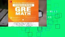 Full version  McGraw-Hill Education Conquering GRE Math, Third Edition  For Kindle