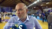 Finale LFB 2019 - Interview de Franck Manna, président du BLMA