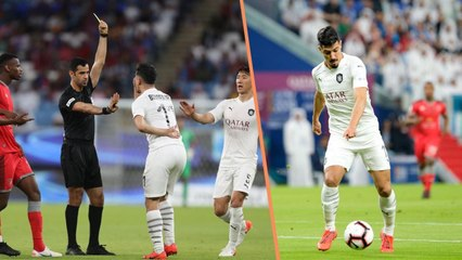 Emir Cup : Bounedjah rate sa finale et prend un rouge !