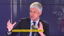 """Europe, """"droite Trocadéro"""", jihadistes… Laurent Wauquiez invité du """"8h30 Fauvelle-Dély"""""""