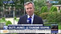 """Gilets jaunes: le secrétaire d'État chargé du Tourisme note un """"redressement"""" en mars et en avril"""
