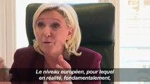 """Pour Marine Le Pen, """"l'Europe n'est forte que de nations fortes"""""""