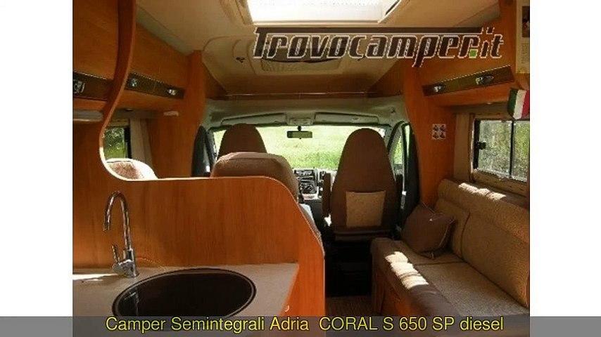 SEMINTEGRALE ADRIA USATO MOD CORAL S 650...