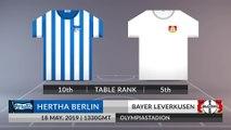 Match Preview: Hertha Berlin vs Bayer Leverkusen on 18/05/2019