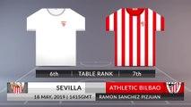 Match Preview: Sevilla vs Athletic Bilbao on 18/05/2019
