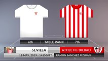 Match Preview: Sevilla vs Athletic Bilbao on 18/05/2019