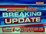 BJP Chief Amit Shah addresses press conference; PM Narendra Modi accompanies Shah