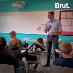 Middle Schooler Asks Beto O'Rourke About Gun Control