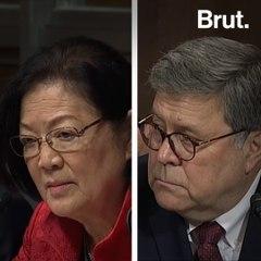 Sen. Hirono Tells AG William Barr to Resign