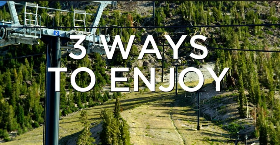 Three Ways to Enjoy Mammoth Lakes, California