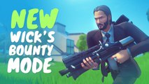 NEW JOHN WICK SKIN AND NEW WICKS BOUNTY LTM | Fortnite Battle Royale