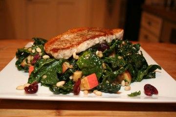 Pork Chops with Israeli Couscous Salad