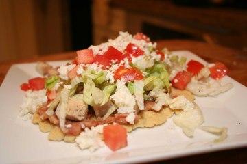 Chicken Huaraches