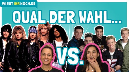 """Guns N' Roses"" vs. ""Modern Talking"" vs. ""Nsync"" - Heiraten oder wegschicken?"