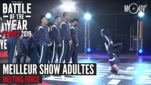 BOTY FRANCE 2019 : Meilleur show adultes avec Melting Force