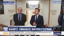 Biarritz: Emmanuel Macron s'exprime
