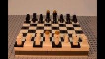 Lego travel chess set - Lego MOC stop motion build