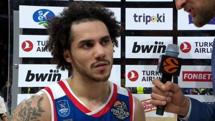Post-game Interview: Shane Larkin, Efes