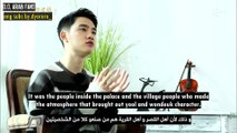 [ENG_ARABIC SUB] 100DaysMyPrince KNTV JAPAN interview - KYUNGSOO CUT