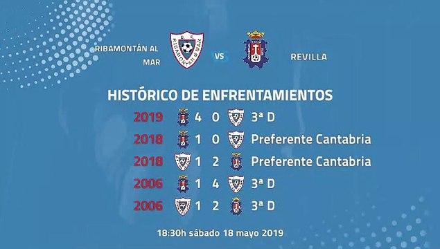 Previa partido entre Ribamontán al Mar y Revilla Jornada 38 Tercera División