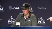 Second round reaction from Jordan Spieth at the 101st PGA Championship
