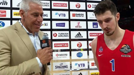 Post-game interview: Nando De Colo, CSKA