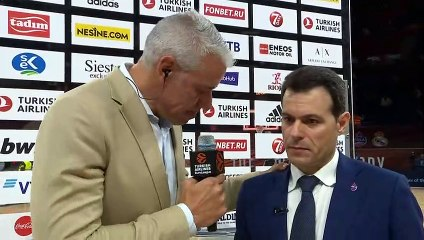 Post-game interview: Dimitris Itoudis, CSKA