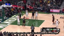 Bucks Crowd chants LA's Calling to Kawhi Leonard at the freethrow line during Game 2 Bucks vs Raptors loss 5-17-10