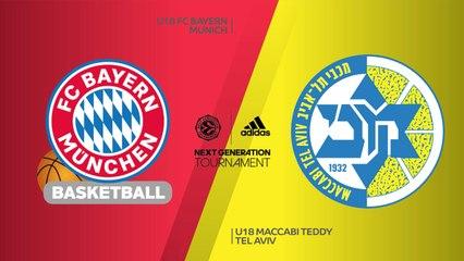 EB ANGT Finals Highlights:U18 FC Bayern 85-71 U18 Maccabi